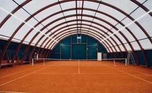 Un court de tennis de la métropole lilloise