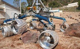 Un prototype du robot envoyé sur Mars en 2011, juin 2007