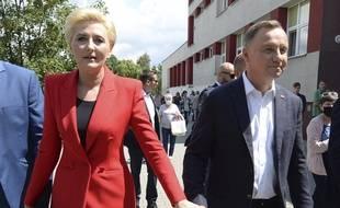 Le président Andrzej Duda s'est présenté à sa réélection. Les élections présidentielles ont lieu dimanche 12 juillet 2020 en Pologne.