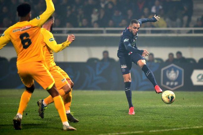 Kurzawa a joué 90 minutes à Pau.