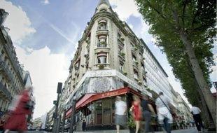 La Maison de l'Alsace, située au n° 39 de l'avenue des Champs-Elysées, à Paris.