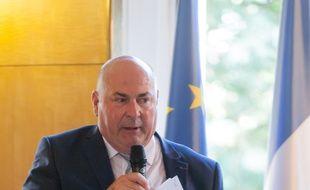 Le président du conseil départemental de Seine-et-Marne, Jean-Jacques Barbaux, ici à Fontainebleau en 2015, est décédé dimanche 25 février 2018.