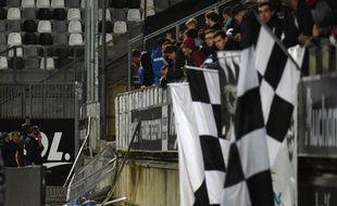 L'état précaire du Stade de la Licorne à Amiens.