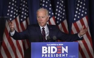 Le démocrate Joe Biden s'est prononcé en faveur d'un impeachment de Donald Trump, le 9 octobre 2019.
