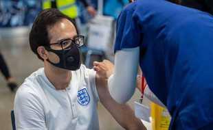 La stratégie de primovaccination au Royaume-Uni révèle des failles face au variant Delta. (Illustration)