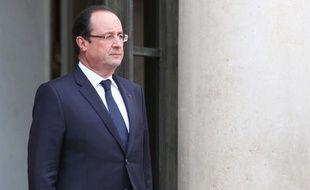 François Hollande à l'Elysée le 4 novembre 2013.