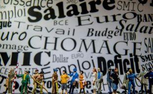 Chômage, emploi et salaire. Photo d'illustration.