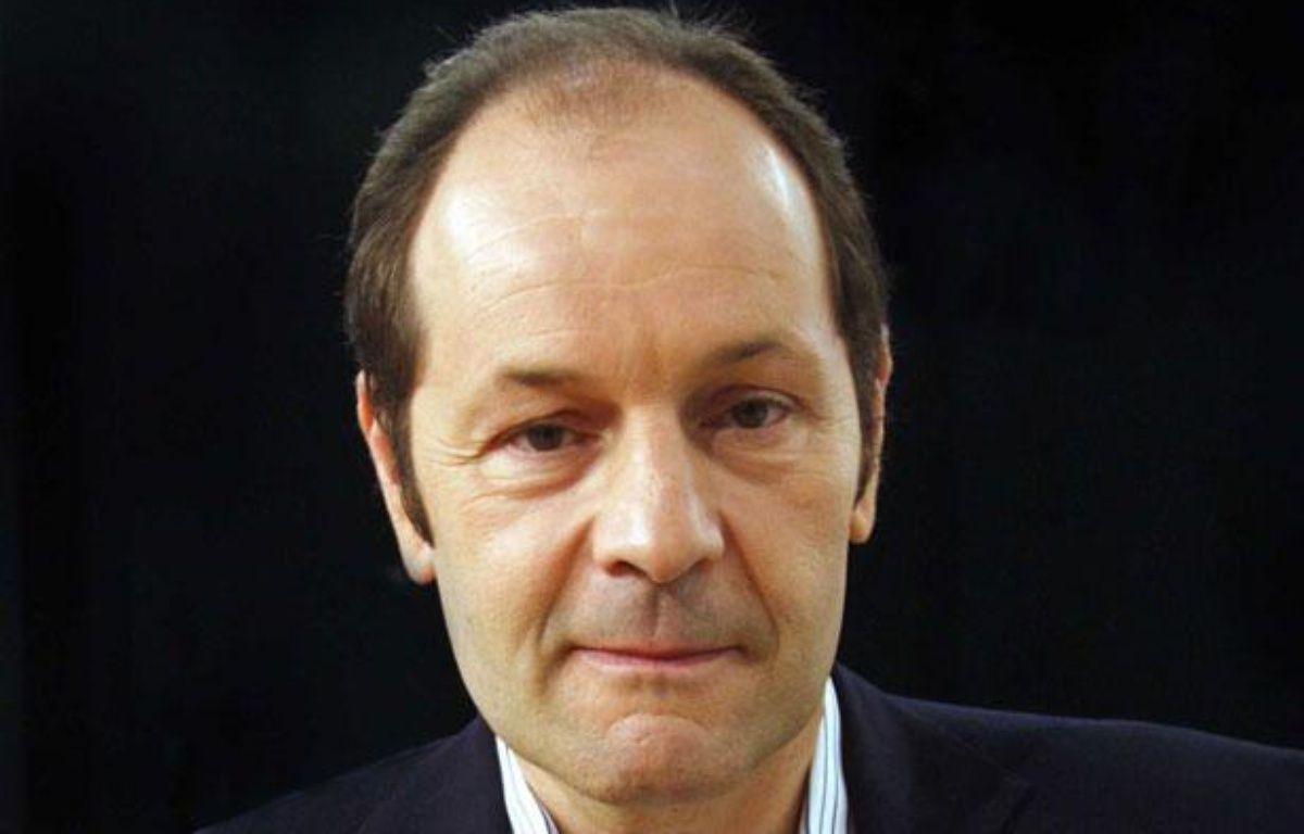 Pascal Perri, auteur de «Ne tirez pas sur le football, contre les idées reçues», en 2009. – IBO/SIPA
