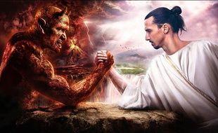 «Zlatan peut battre le diable au bras de fer».