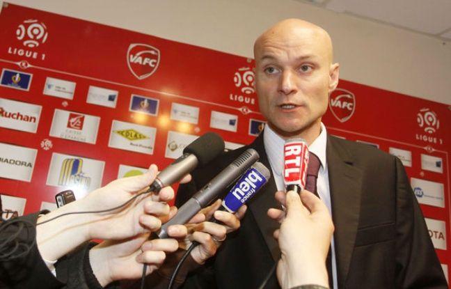 Tony Chapron, en mai 2009 à Valenciennes.
