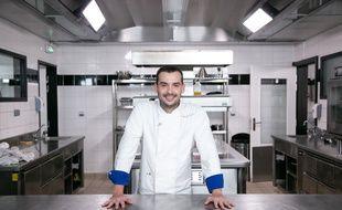 Samuel Albert, vainqueur de la saison 10,  de Top Chef.