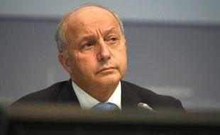 Le ministre français des Affaires étrangères, Laurent Fabius, à Bonn en Allemagne le 20 octobre 2015