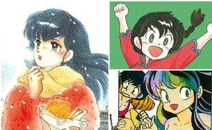 «Maison Ikkoku», «Ranma 1/2», «Urusei Yatsura»... Trois titres phares de Rumiko Takahashi, la reine du manga