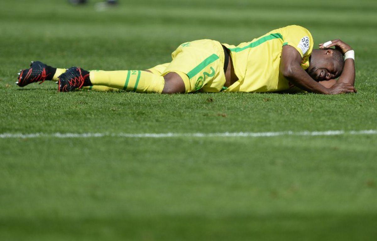 Nakoulma à terre... A l'image du FC Nantes ce dimanche. – JEAN-SEBASTIEN EVRARD / AFP