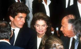 Jackie Onassis Kennedy en 1990, à New York.
