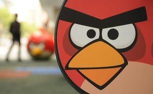Un parc d'attraction Angry Birds à Shanghai, le 31 octobre 2012.