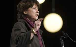 Martine Aubry au Zénith de Paris, le 22 mars 2009