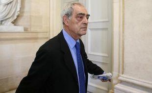 Le député PS Henri Emmanuelli à l'Assemblée nationale le 2 octobre 2012 à Paris