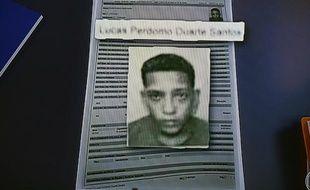 Capture d'écran de la photo d'un des hommes soupçonnés d'un viol collectif sur une jeune fille brésilienne âgée de 16 ans