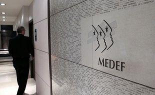 Le siège du Medef, à Paris, en janvier 2013
