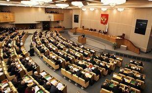 """La Douma russe a adopté vendredi en première lecture un projet de loi qui qualifie d'""""agents de l'étranger"""" et place sous contrôle les ONG ayant un financement étranger et une activité """"politique"""", une initiative dénoncée comme un nouveau pas pour écarter toute critique."""