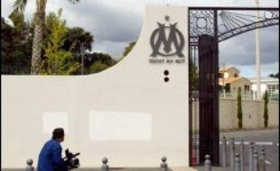L'entrée de l'Olympique de Marseille.