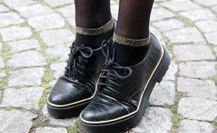 Synonymes de fantaisie, les chaussettes s'assument même pailletées.