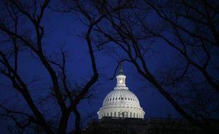 Le Sénat, le 24 février 2009, à Washington DC.