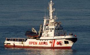 Illustration: Le navire de l'ONG espagnole Proactiva Open Arms arrive dans le port d'Algeciras, dans le sud de l'Espagne, le 9 août 2018.