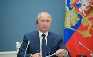 Vladimir Poutine le 1er juillet 2020