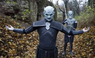 "Le ""Night King"" roi des Marcheurs Blancs dans la série ""Game of Throne""."