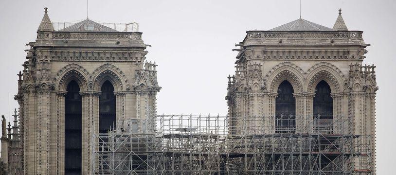 La cathédrale Notre-Dame de Paris, en travaux depuis juillet 2018, a été le théâtre d'un incendie le 15 avril 2019.
