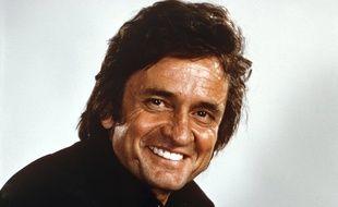 Le chanteur et musicien Johnny Cash en 1968