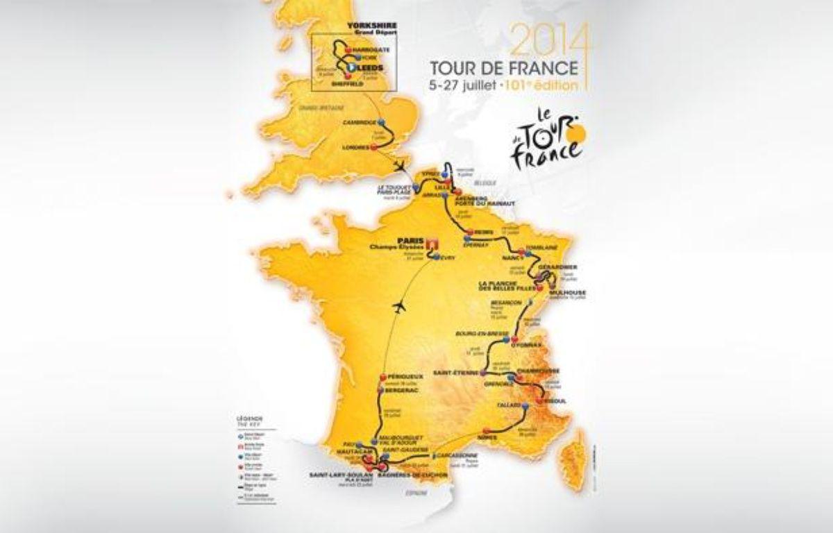 Le Tour de France 2014 partira de l'Angleterre. – DR/ASO