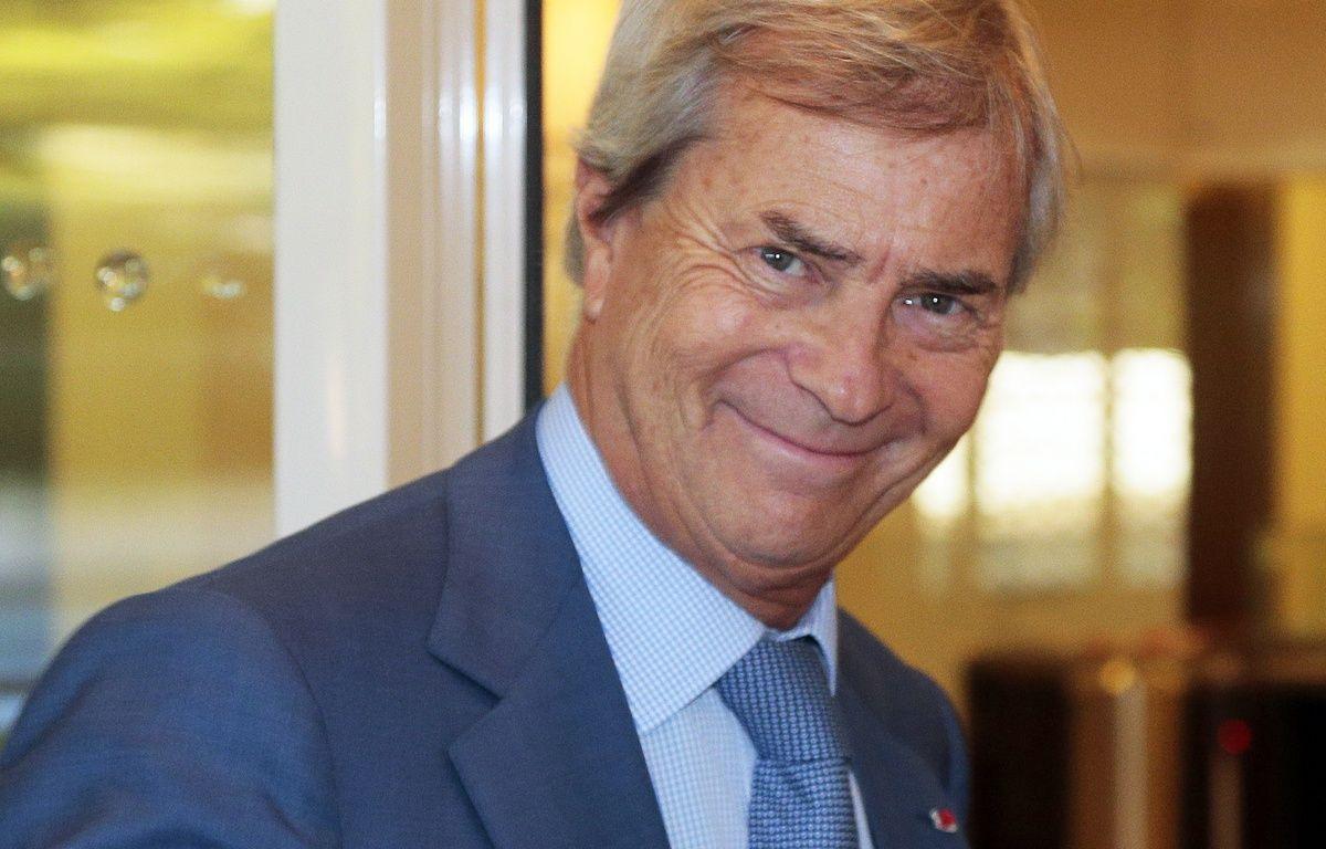 Vincent Bolloré, le 29 septembre 2015. – AFP