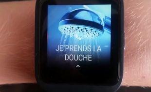 L'application WatcHelp fonctionne gâce à une appli et une montre connectée.