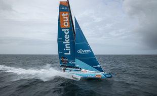 Thomas Ruyant fait preuve d'audace pour son retour dans l'atlantique