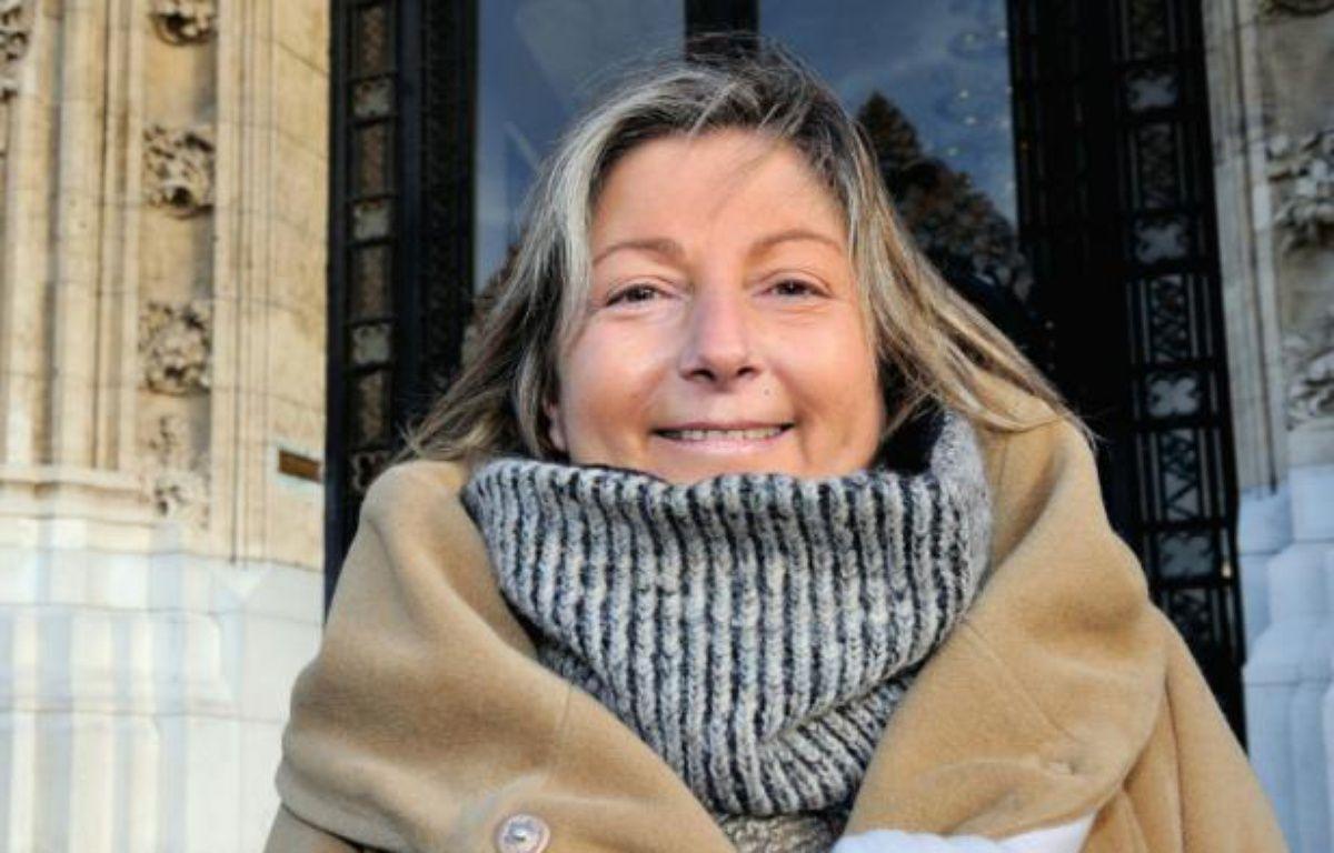 La maire de Calais Natacha Bouchart (Les Républicains) à Calais, le 12 décembre 2013 – PHILIPPE HUGUEN AFP