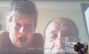 Le jeune Irlandais a voulu surprendre ses parents en les appelant via Skype au moment de sauter en parachute.