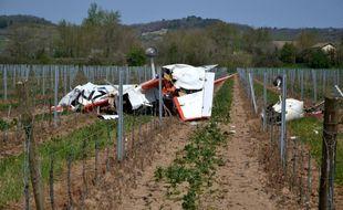 Le crash s'est produit à Gaillac, juste à côté de l'aérodrome.