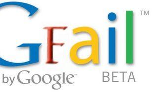 Gfail, détournement de Gmail pour désigner les pannes dont est victime Google