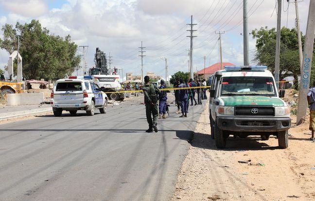 648x415 des forces de l ordre sur les lieux d un attentat a mogadiscio le 28 avril 2021 illustration