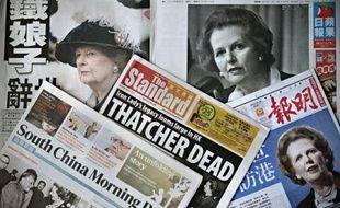 """De nombreux éditorialistes mettent l'accent mardi sur le fait que l'ex-Premier ministre britannique Margaret Thatcher, décédée lundi, symbolisait un ultralibéralisme dont les échecs sont """"avérés"""", notamment à la lumière de la crise actuelle en Europe."""