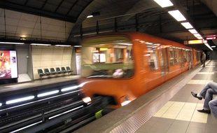 Le métro de Lyon