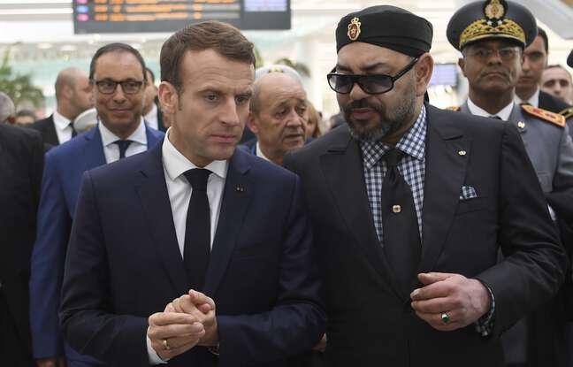 648x415 roi maroc mohammed vi president francais emmanuel macron etat relations entre maroc france pose question apres revelations affaire espionnage pegasus