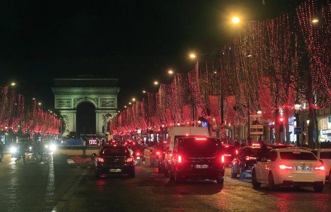Les « gilets jaunes » interdits de manifester sur les Champs-Elysées pour le réveillon du Nouvel An
