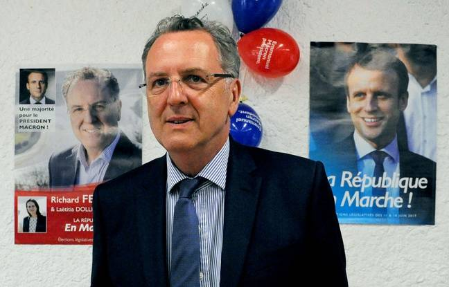 Richard Ferrand, le 2 juin 2017. AFP PHOTO / FRED TANNEAU