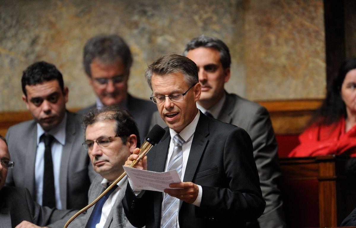 Élu en 2012, l'écologiste Eric Alauzet était candidat à sa réélection, sous l'étiquette EELV, mais avec le soutien du PS et sous la bannière Majorité présidentielle également. – WITT/SIPA