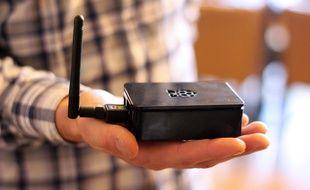 Trente boîtiers wifi ont été installés dans les commerces du centre-ville de Rennes pour suivre les mouvements des smartphones.