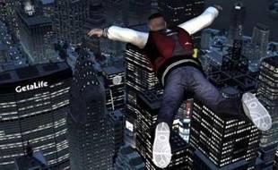 Le Base-Jumping dans GTA4 : The Ballad of Gay Tony